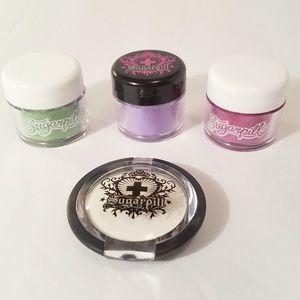 Sugarpill Makeup Set, 4 Eyeshadows